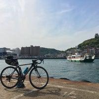 Photo taken at 福本渡船 向島側フェリーのりば by Kotaro U. on 5/5/2018