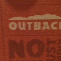 Photo taken at Outback Steakhouse by Doris C. on 2/16/2014