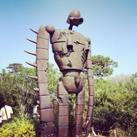 Photo taken at Ghibli Museum by Yu H. on 3/16/2013