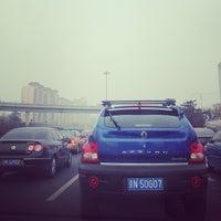 Photo taken at 健翔桥 Jianxiang Bridge by echo m. on 4/21/2013