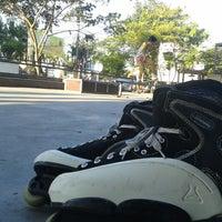 Photo taken at Tony's Skatepark by Bali I. on 8/28/2013