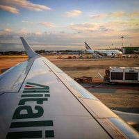 Photo taken at Milan Linate Airport (LIN) by alberta s. on 8/18/2015