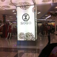 Photo taken at SOGO by Paulus E. on 12/22/2012