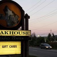Photo taken at Wolf Creek Steakhouse by Jen S. on 7/23/2013