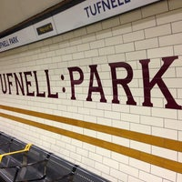 Photo taken at Tufnell Park London Underground Station by Sam S. on 2/22/2013