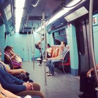 Photo taken at Metro Alameda [VD,VM] by Miru M. on 8/27/2013