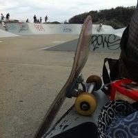Photo taken at Maroubra Skate Park by Fernanda K. on 3/23/2014