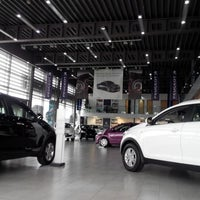 Photo taken at Peugeot by Ludmila S. on 3/12/2014