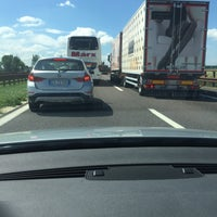 Photo taken at A22 - Mantova Sud by Paola P. on 5/15/2017