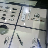 Photo taken at Montblanc Boutique by Elle W. on 10/28/2013