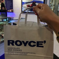 Photo taken at ROYCE' Chocolate by Elle W. on 3/6/2017