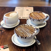 Photo taken at Max Brenner Chocolate Wollongong by Elle W. on 5/28/2018