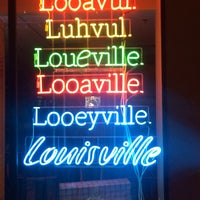 Photo taken at Louisville Visitors Center by Gina K. on 12/29/2016