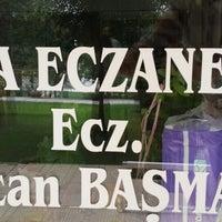 Photo taken at Eda Eczanesi by Özcan B. on 9/5/2013