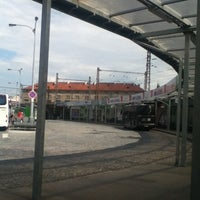 Photo taken at Prague Central Bus Station by Paul H. on 7/30/2013