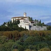 Photo taken at Castello di Brescia by Turismo B. on 7/23/2013