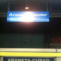 Photo taken at Yellow Line - Araneta Center-Cubao Station by Rhaio D. on 12/6/2012