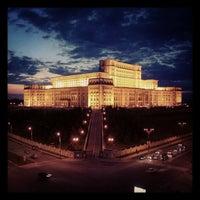 Photo taken at Palatul Parlamentului by Cristian K. on 12/19/2012