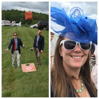Photo taken at Virginia Gold Cup by Tony C. on 5/7/2016