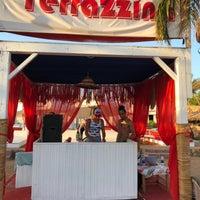 Photo taken at Terrazzina Beach by Alena🍭 on 9/30/2017