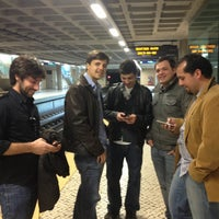Photo taken at Metro Odivelas [AM] by Marco A. on 4/6/2013