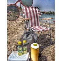 Photo taken at Tuzburnu Plajı by Sümeyye H. on 9/6/2015