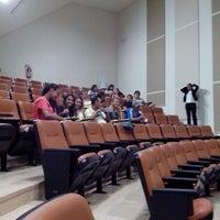 Photo taken at Auditorio da Reitoria by Lenilda L. on 8/8/2013