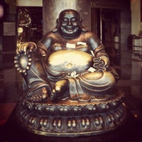 Photo taken at Big Buddah Statue at ARIA by Edenilso G. on 9/17/2013