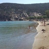 Photo taken at Γλυφός by Vasilis P. on 7/14/2017