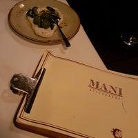 Das Foto wurde bei Mani Restaurant von Lene K. am 8/19/2016 aufgenommen