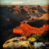 Photo taken at Grand Canyon National Park (South Rim) by Justin S. on 8/28/2013
