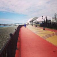 Снимок сделан в Набережная Олимпийского парка пользователем Anton❤ S. 4/13/2015