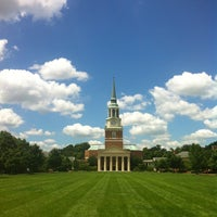 Photo taken at Wake Forest University by Sabrina T. on 7/15/2013