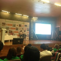 Photo taken at Auditorio Plaza de la Libertad by Alexander Guerra V. on 10/3/2013
