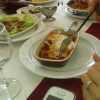 Photo taken at Restaurant Le cristal by Marwa T. on 3/16/2014