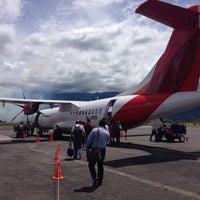 Photo taken at Aeropuerto Perales (IBE) by Nelson G. on 7/11/2014
