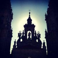 Photo taken at Catedral de Santiago de Compostela by Ivan L. on 8/14/2013