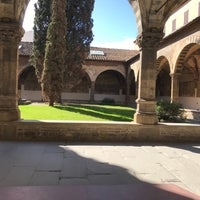 Photo taken at Chiostro Grande Da Santa Maria Novella by Bea M. on 2/25/2017