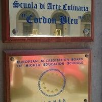 Photo taken at Scuola di Arte Culinaria Cordon Bleu by Laura on 6/29/2016