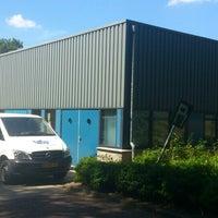 Photo taken at Vitens Laboratorium Steunpunt Enschede by Laura on 8/5/2013