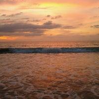 Photo taken at Laguna Beach by Vasiliy B. on 12/3/2012