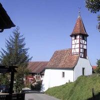 Photo taken at Kapelle Dachsen by Zürcher W. on 7/23/2013