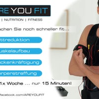Das Foto wurde bei ARE YOU FIT | EMS-Trainingslounge von ARE YOU FIT | EMS-Trainingslounge am 9/11/2013 aufgenommen