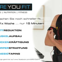 Das Foto wurde bei ARE YOU FIT | EMS-Trainingslounge von ARE YOU FIT | EMS-Trainingslounge am 8/7/2014 aufgenommen
