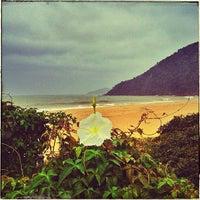 Photo taken at Praia Brava by Valerio V. on 7/21/2013