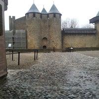 Photo taken at Château Comtal de la Cité de Carcassonne by Jorge C. on 4/1/2013
