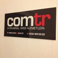 Photo taken at Comtr Kurumsal Web Hizmetleri by Halis E. on 7/25/2013