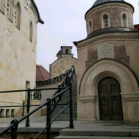 Photo taken at Архангело-Михайлівський Звіринецький монастир by Serge H. on 4/1/2017