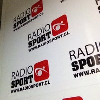 Photo taken at Radio Sport Chile by Carlos Fernando M. on 10/25/2014