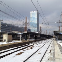 Photo taken at Brussels-South Railway Station (ZYR) by Timothy J. on 3/13/2013